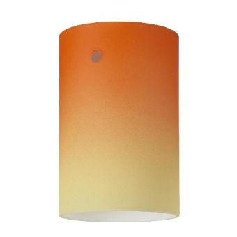 Glas-m6 - Zylinder - Orange-Gelb