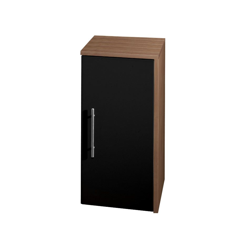 unterschrank leon mit 1 t r wei hochglanz schrank. Black Bedroom Furniture Sets. Home Design Ideas