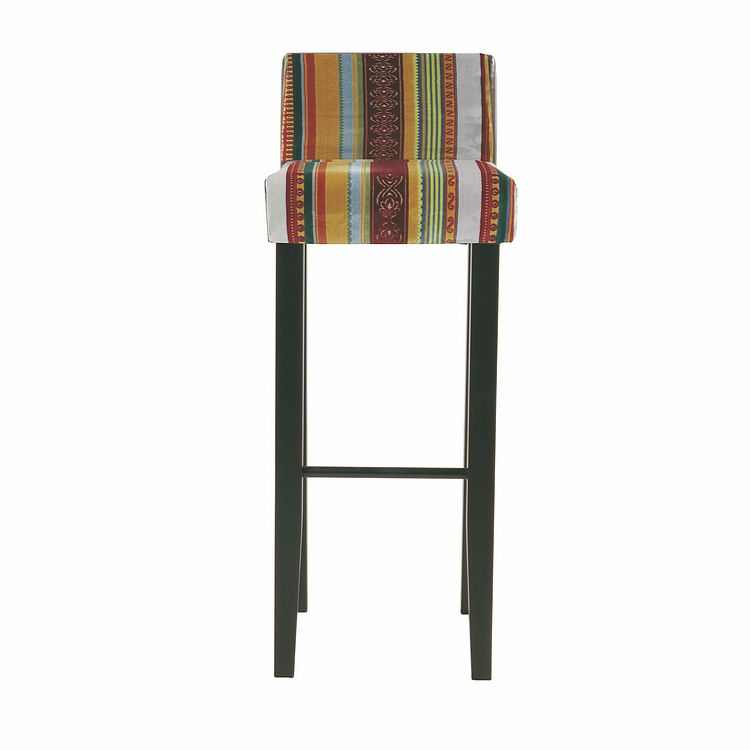 Barhocker Very British Isis (2er-Set) – Mehrfarbig – Massives Holzgestell, Kare Design bestellen