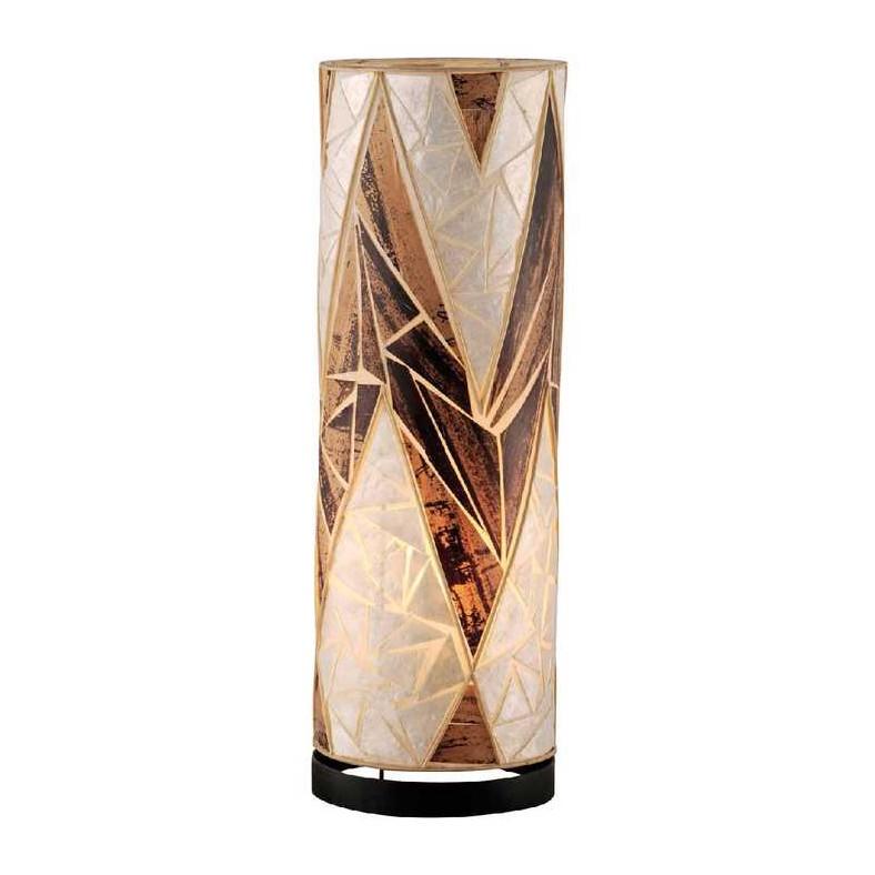 Stehleuchte Abuja ● 1-flammig ● handgefertigt/Schnurschalter/Energiesparleuchtmittel ● textil- Paul Neuhaus A++