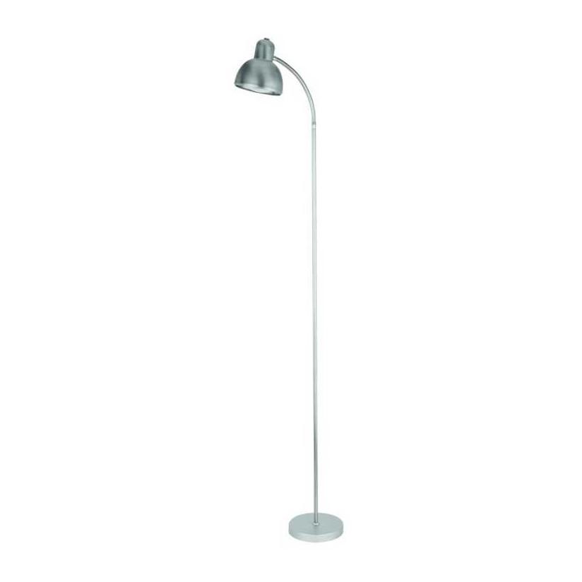 Stehleuchte Ahmeek – Metall aluminiumfarbig matt, Busch Leuchten günstig kaufen