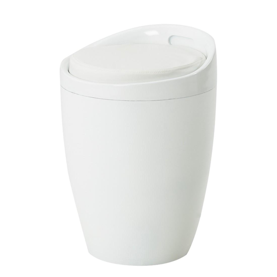 Hocker Alena – mit gepolstertem PVC-Sitz, Home Design kaufen