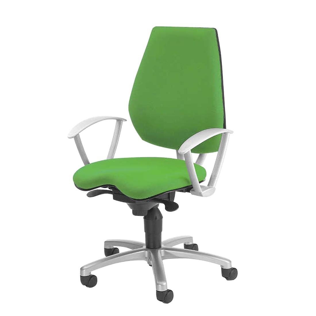 Drehstuhl Alustar – Textilbezug – apfelgrün, Topstar jetzt bestellen