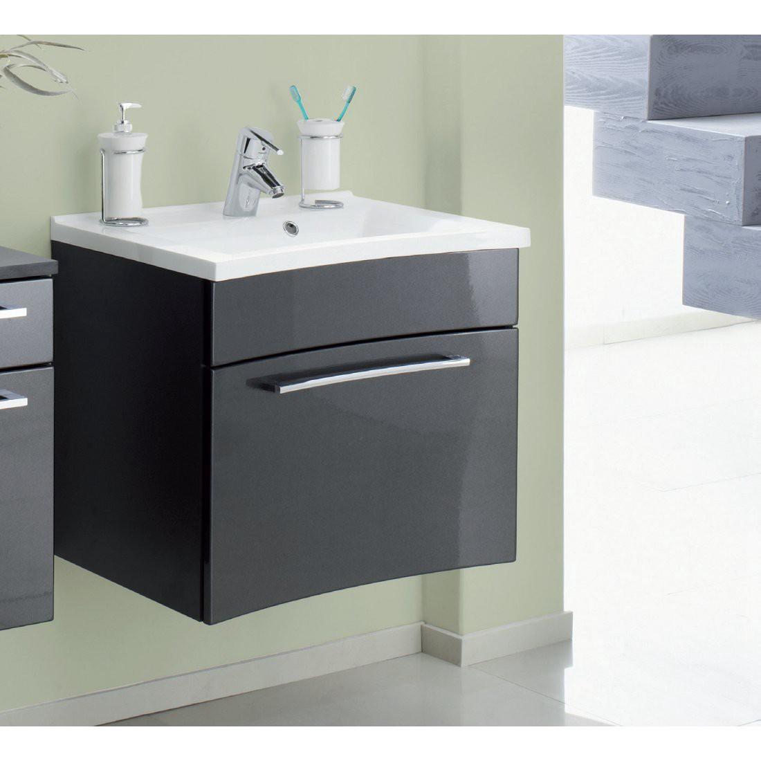 Waschplatz Fontana – klein – Walnuss-Nachbildung-Weiß, Aqua Suite bestellen