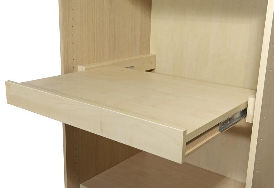 Fachboden ausziehbar - Schrankteilbreite 50/52cm