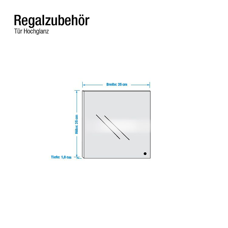 Tür Carry – Hochglanz Weiß, Arte M online kaufen