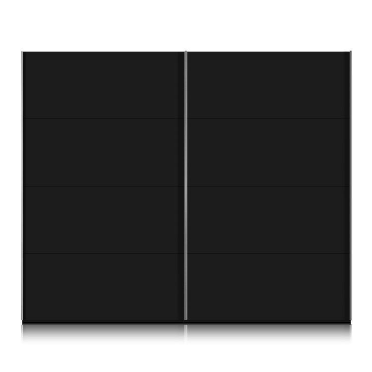 schwebet renschrank kick schwarz dekor breite 302cm. Black Bedroom Furniture Sets. Home Design Ideas