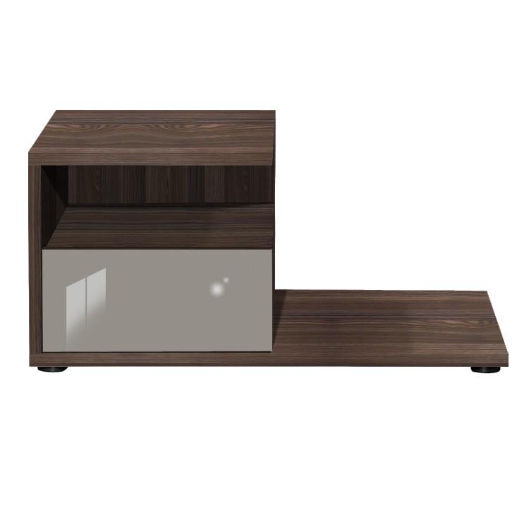 nachtschrank nako loop hochglanz wei wei. Black Bedroom Furniture Sets. Home Design Ideas
