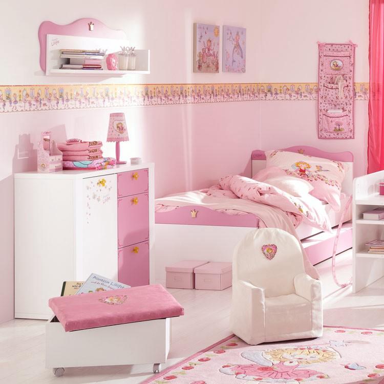 Sparset Prinzessin Lillifee 3 Teilig Bett Kommode