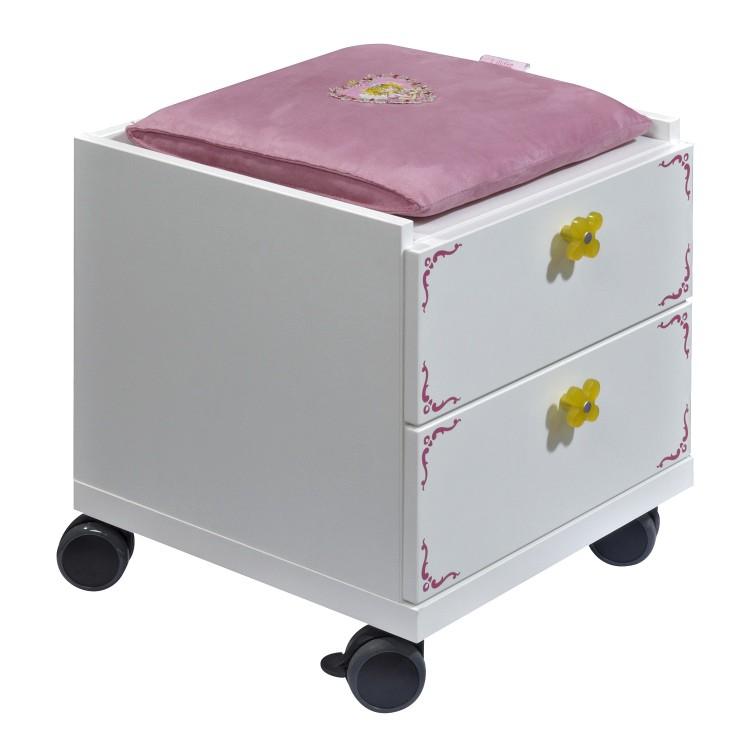 schreibtischcontainer prinzessin lillifee wei bedruckt On schreibtischcontainer weiß