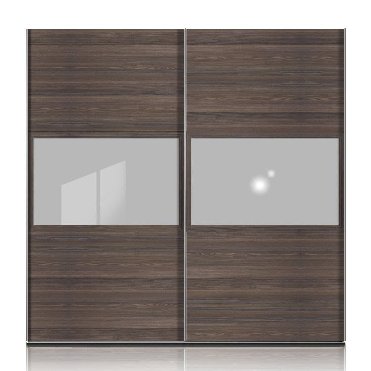 schwebet renschrank trio plus esche dunkel floatglas. Black Bedroom Furniture Sets. Home Design Ideas