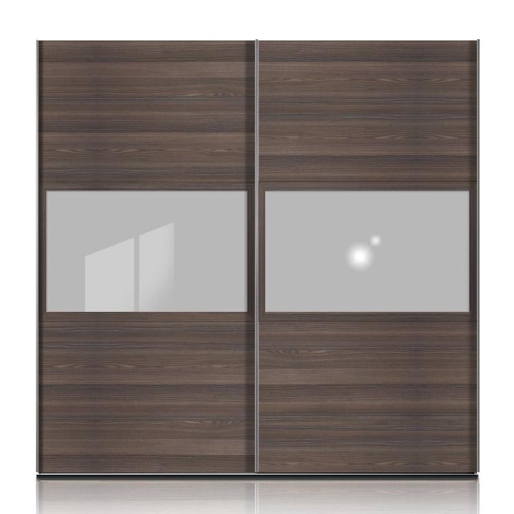 schwebet renschrank trio plus esche dunkel floatglas. Black Bedroom Furniture Sets. Home Design Ideas