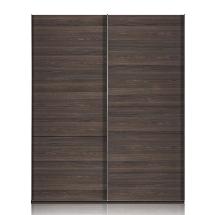 schwebet renschrank trio esche dunkel 202cm. Black Bedroom Furniture Sets. Home Design Ideas