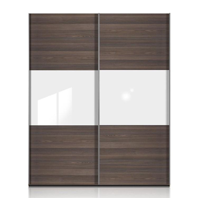 schwebet renschrank trio h213 esche dunkel wei schrankbreite 302 cm. Black Bedroom Furniture Sets. Home Design Ideas