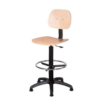 Bürostuhl Artisto – höhenverstellbar – mit Fußablage, Topsit günstig