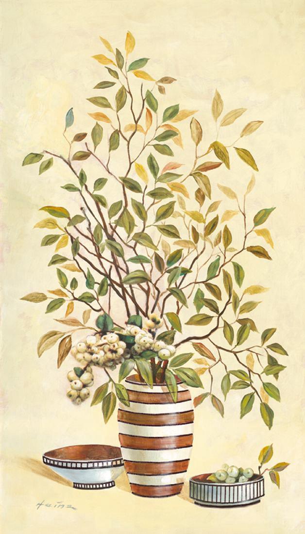 Bild Streaky vases 3 – Kunstdruck, gerahmt – 77,2 x 47,2 cm, Artland günstig kaufen