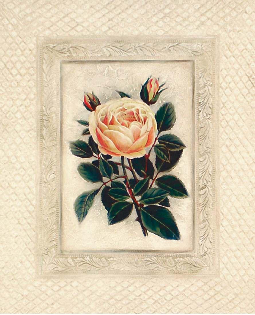 Bild Yellow Tea Rose 1 – Kunstdruck auf Holzfaserplatte – 52 x 42 cm, Artland jetzt bestellen