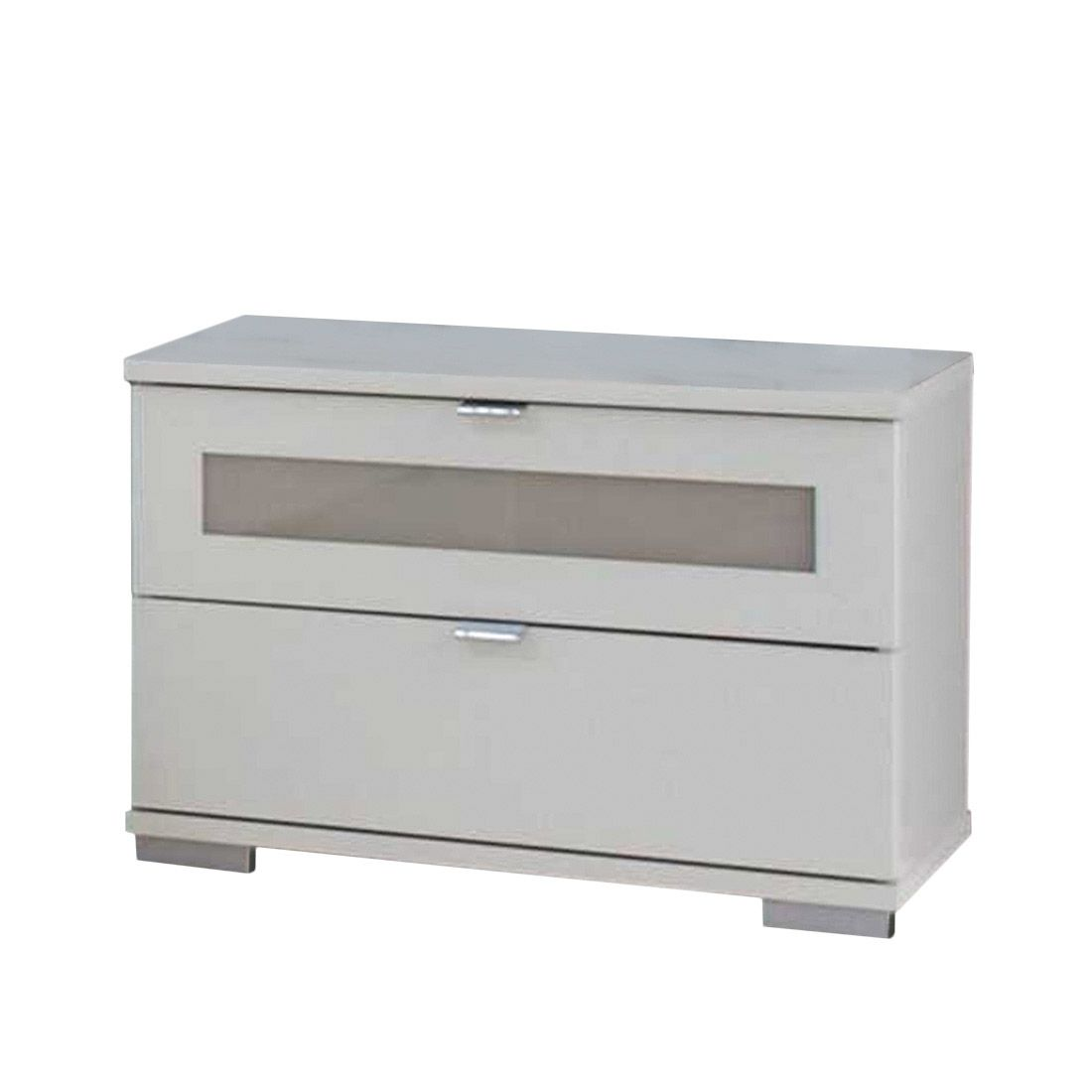 nachtschrank advantage alpinwei sandgrau glas sahara. Black Bedroom Furniture Sets. Home Design Ideas