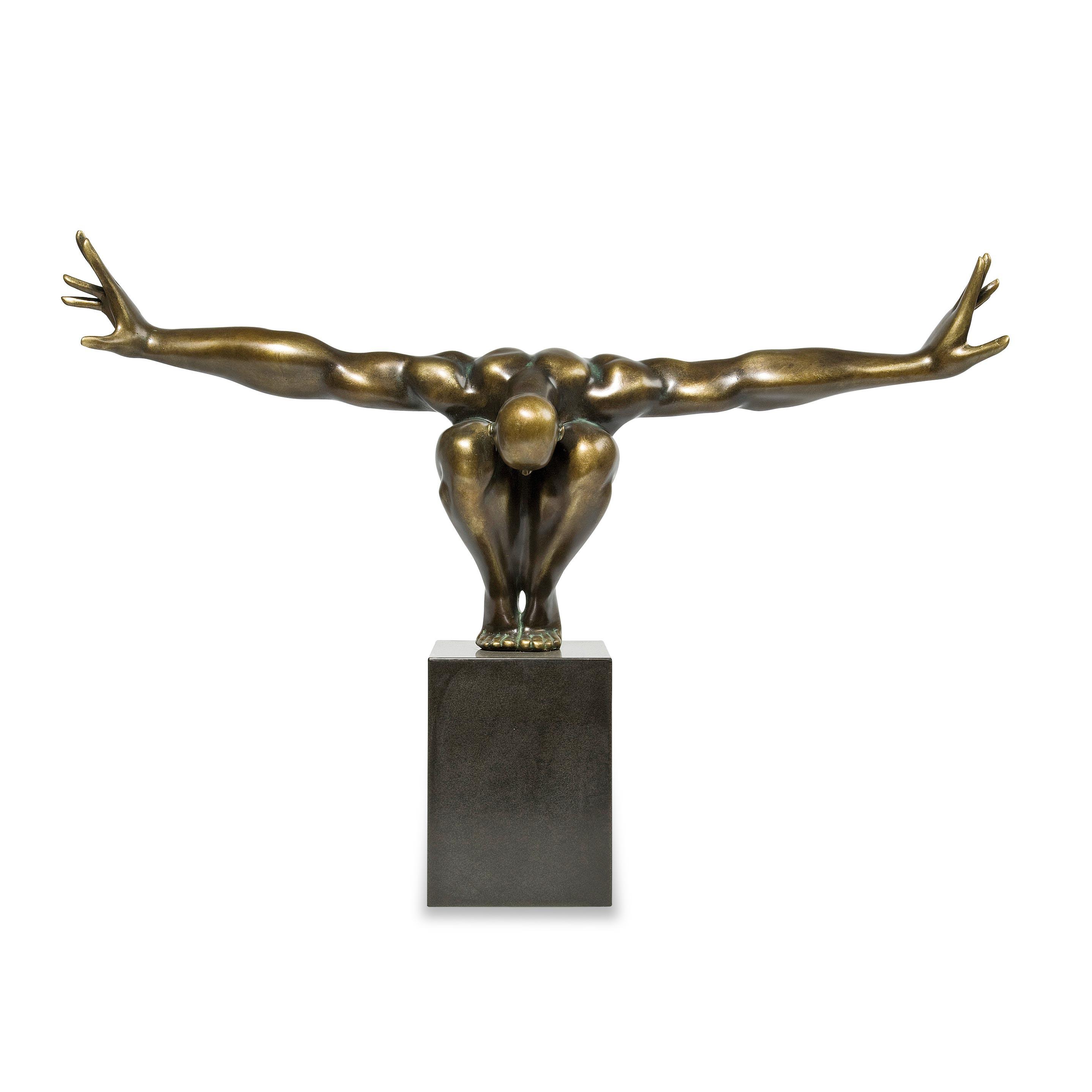 Skulptur Athlet - Bronze, Kare Design