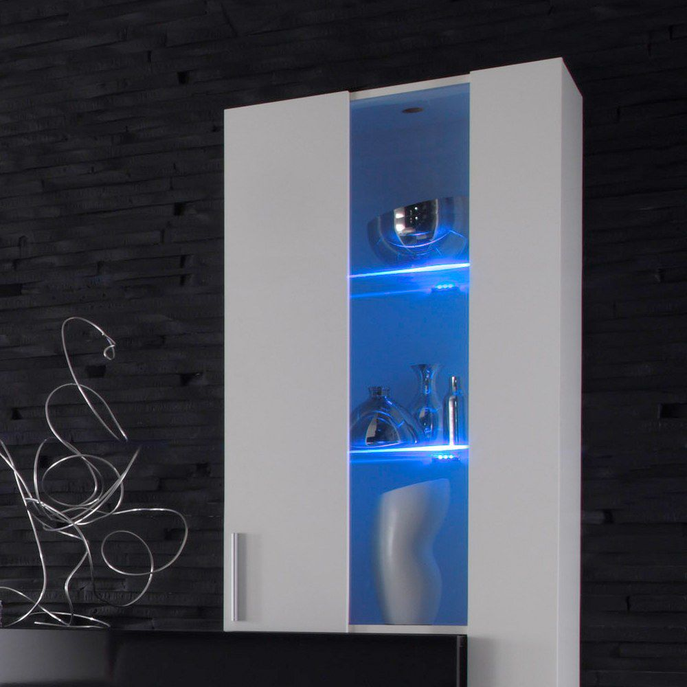 led beleuchtung style 2er set blau. Black Bedroom Furniture Sets. Home Design Ideas