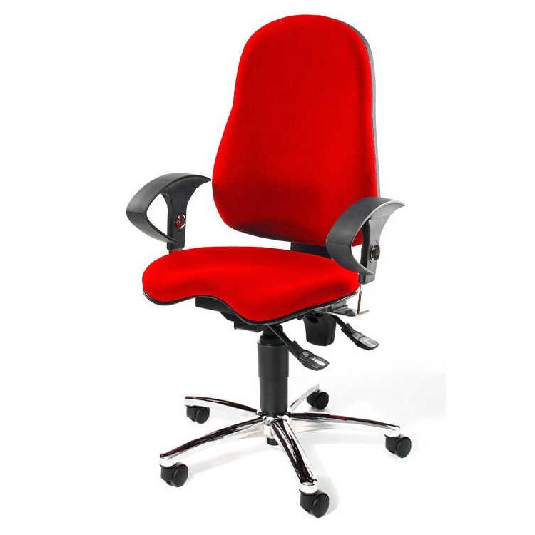 topstar bureaustoel lady sitness blauw aanbieding kopen. Black Bedroom Furniture Sets. Home Design Ideas