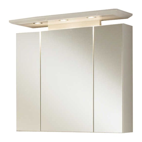 Spiegelschrank Bina - Weiß