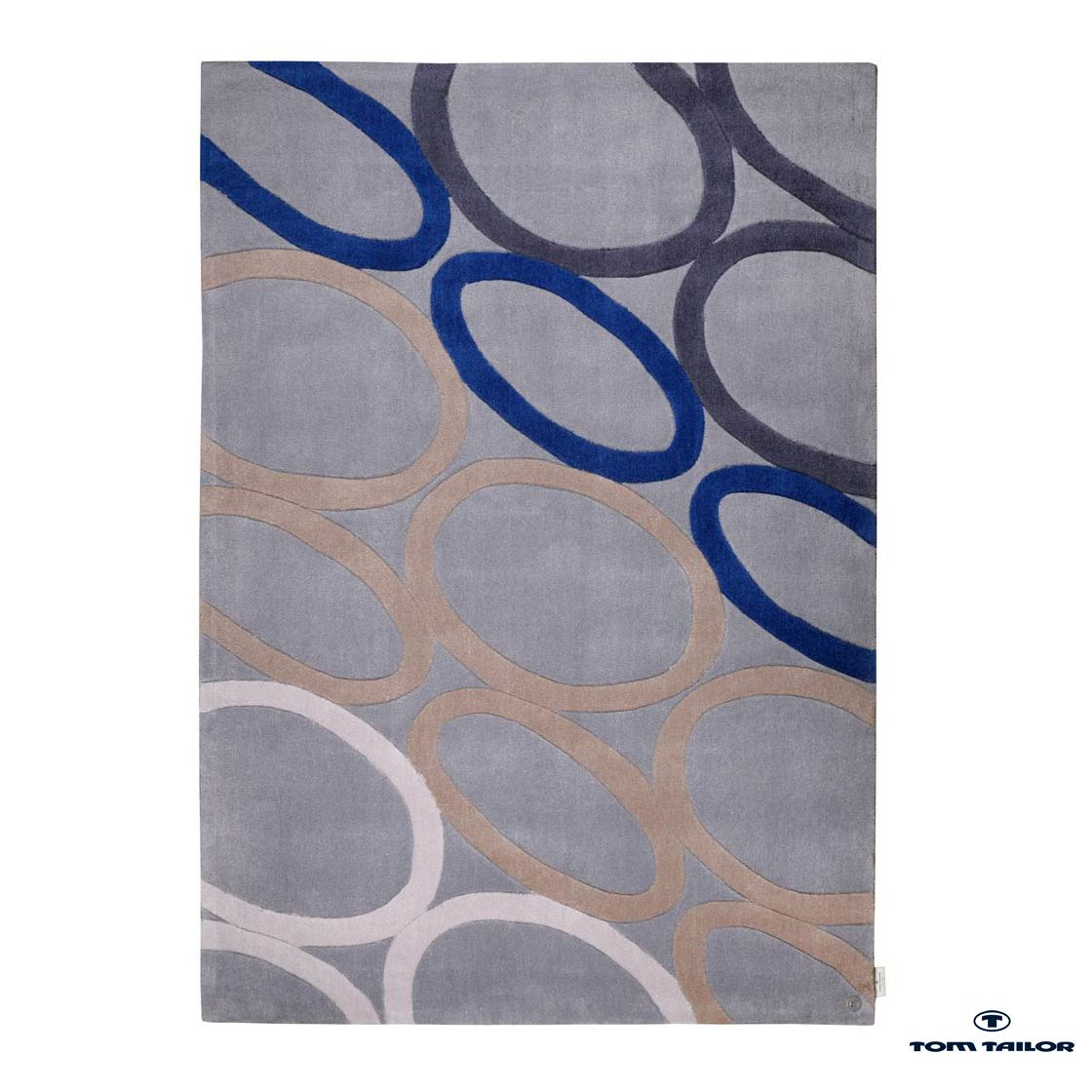Teppich Oval – blue – 160x230cm, Tom Tailor kaufen