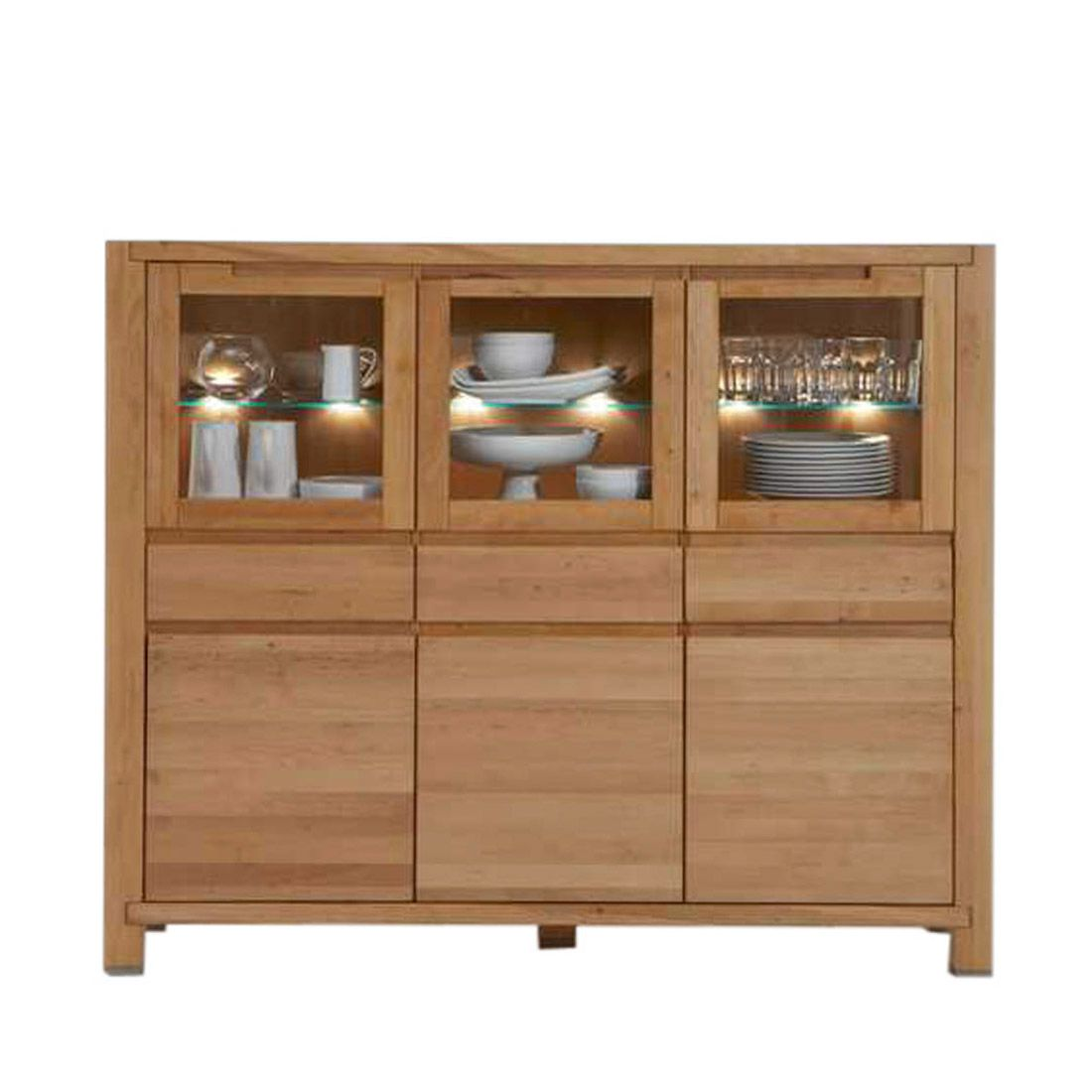 Highboard Boston (ohne Beleuchtung)