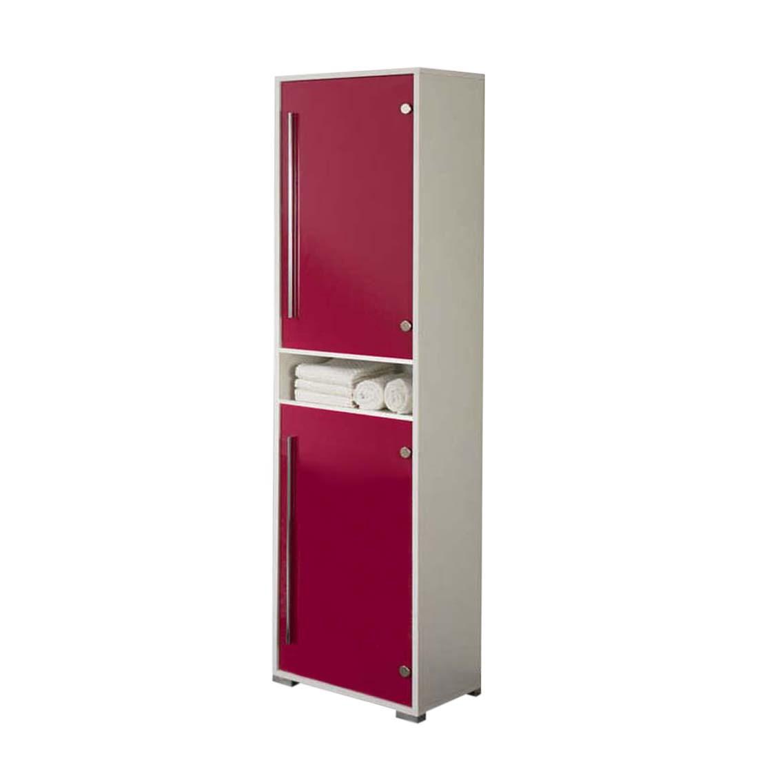 Hochschrank Brantford – weiß/pink, Aqua Suite günstig kaufen