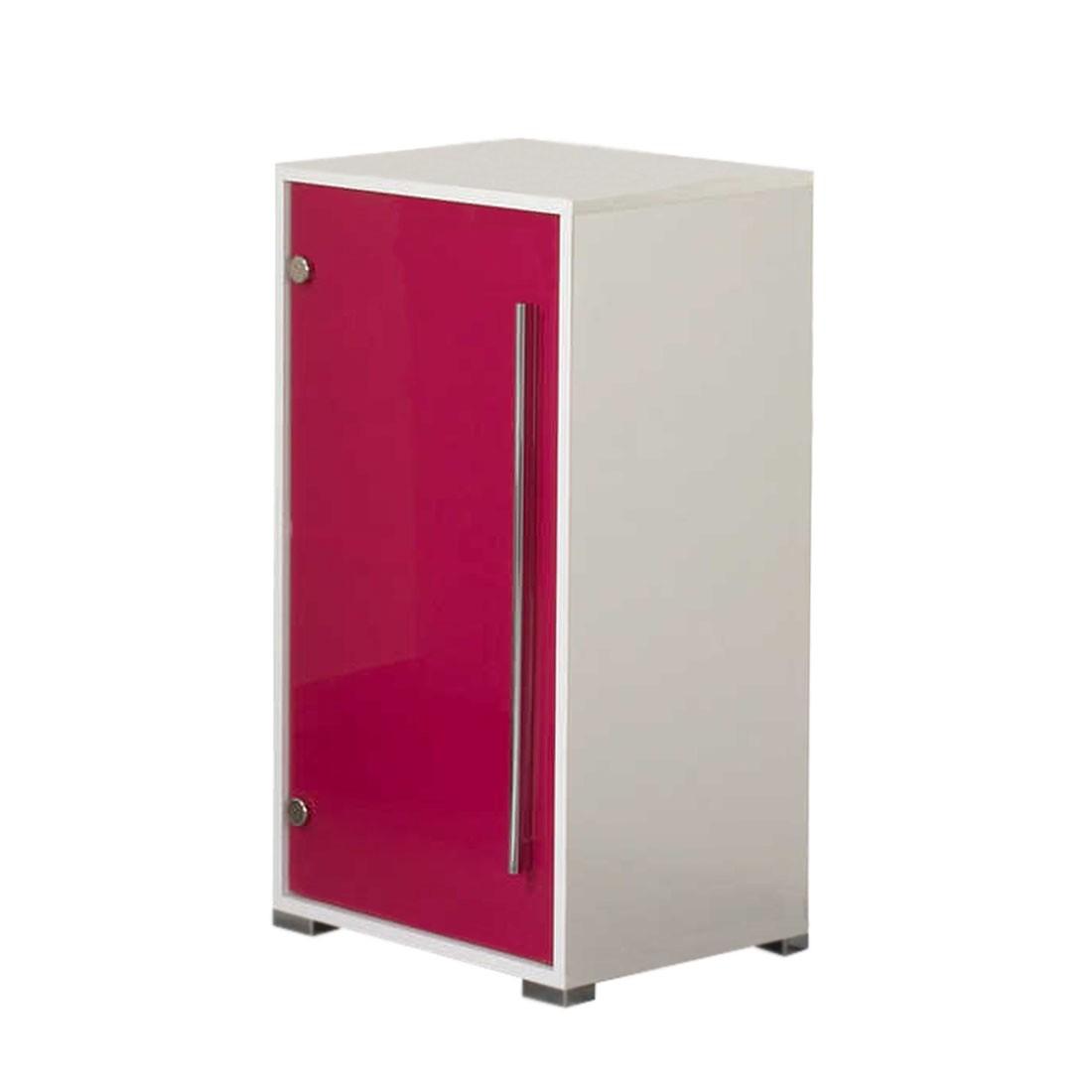Unterschrank Brantford - weiß/pink