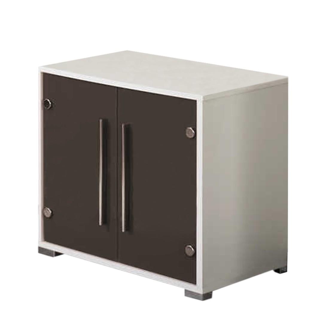 waschbeckenunterschrank brantford wei anthrazit. Black Bedroom Furniture Sets. Home Design Ideas