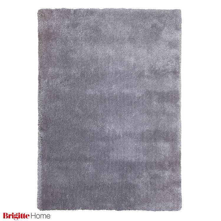 Teppich New Wonderland - Getuftet- Silber - 90x160 cm, Brigitte Home