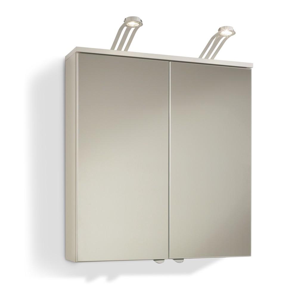 Spiegelschrank Brunswick - inklusive Beleuchtung - Weiß