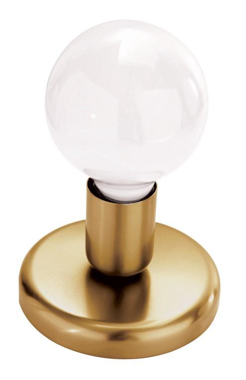 EEK A++, Tischleuchte Adelphi – Gold antik, Busch Leuchten günstig