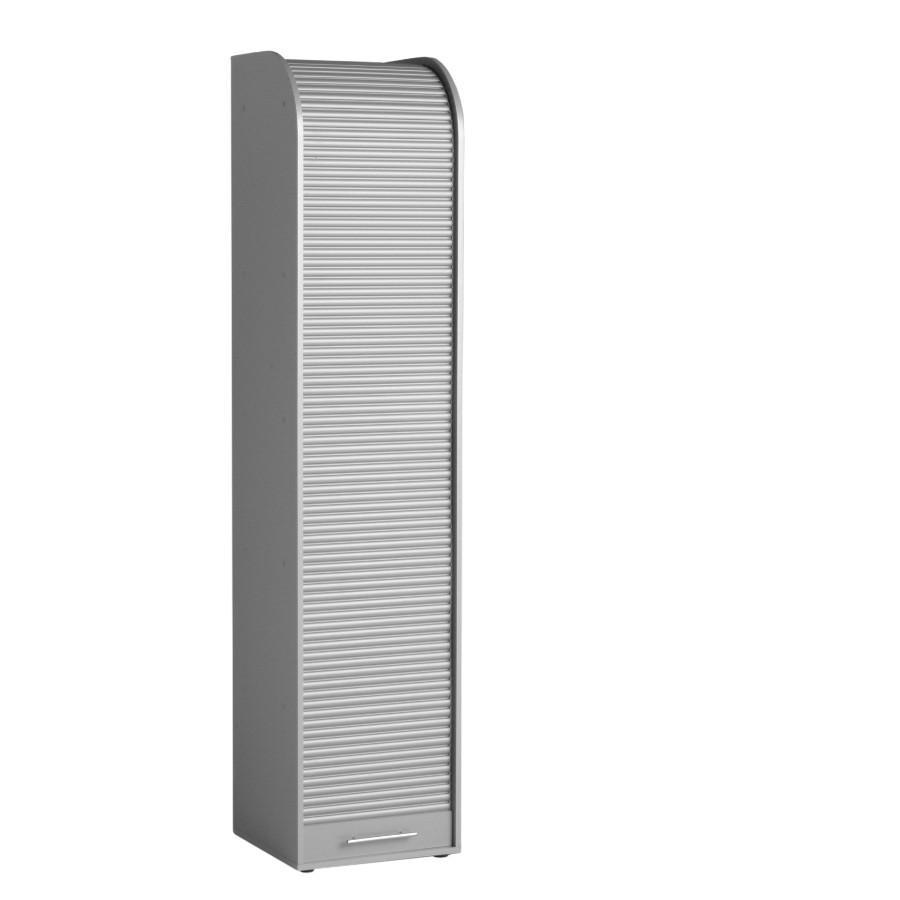 Rolladenschrank Scroll - Silber
