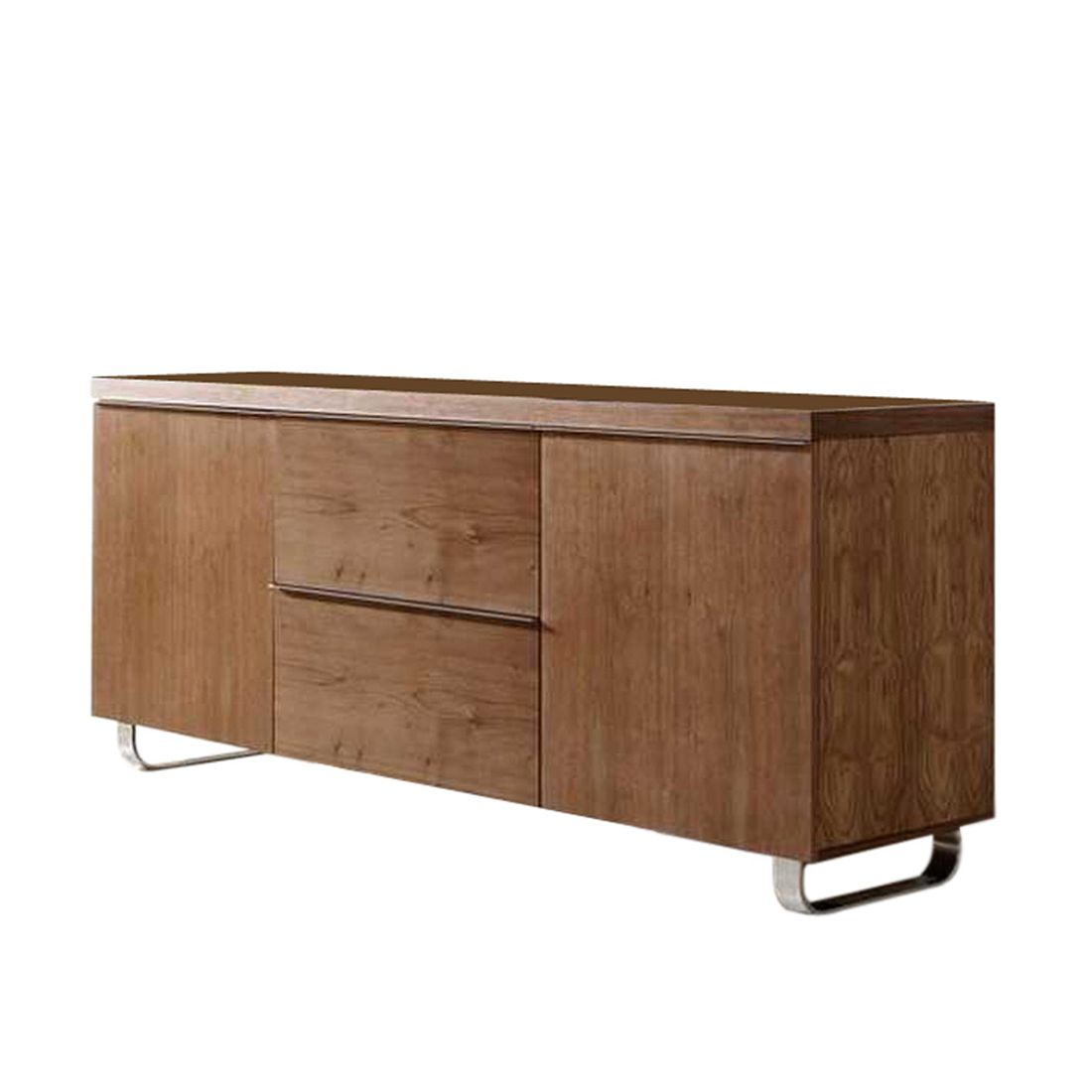sideboard charlie walnuss furnier charlie sideboard. Black Bedroom Furniture Sets. Home Design Ideas