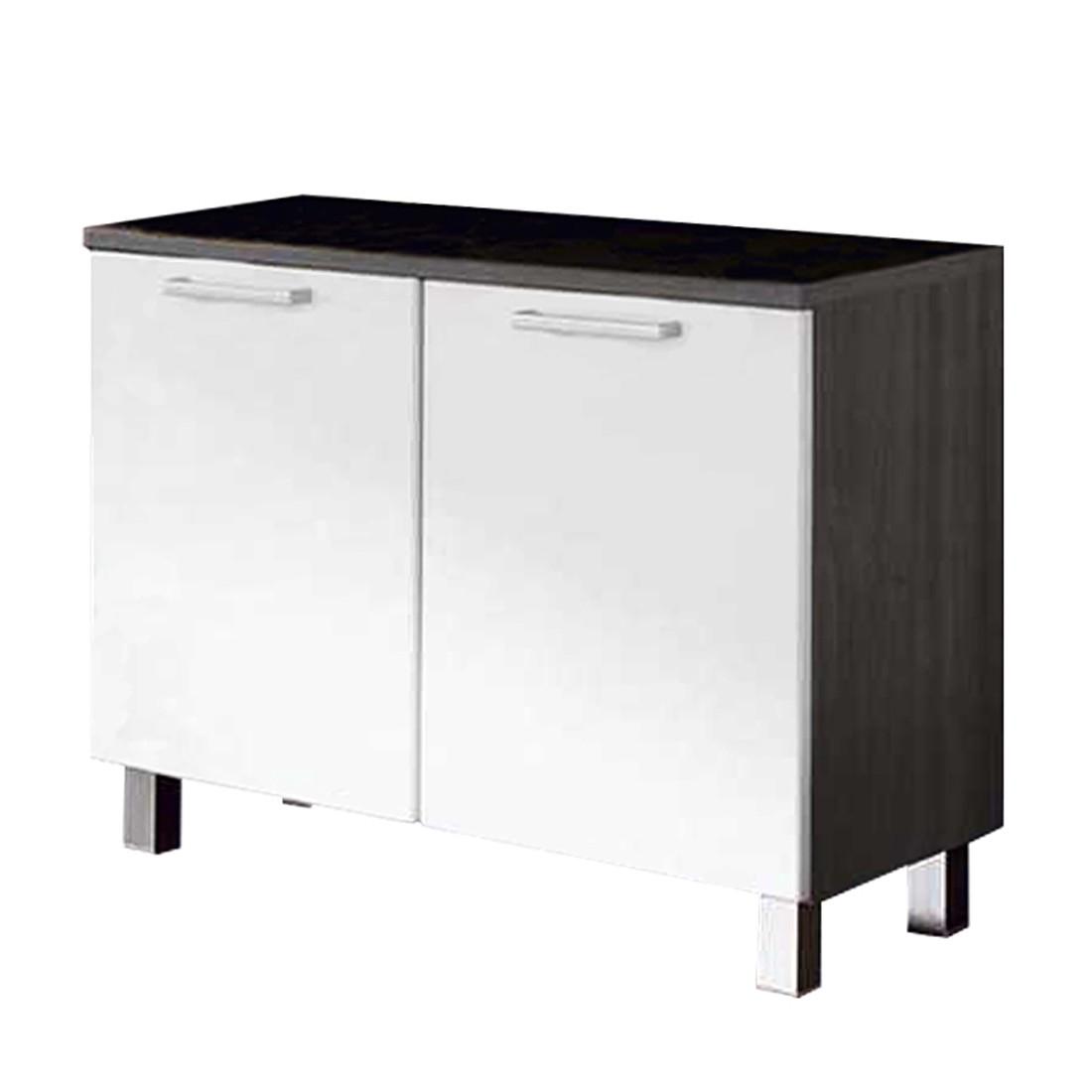 Waschbeckenunterschrank Cologna - Esche/Weiß
