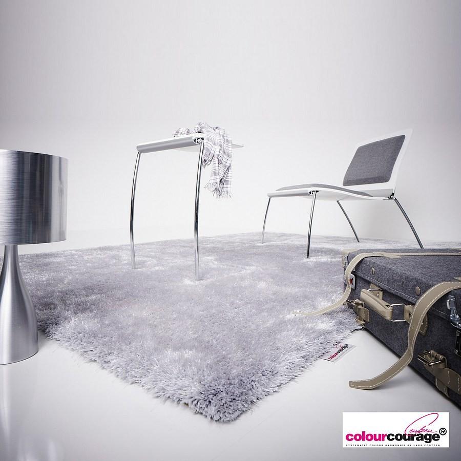 Teppich Concrete – Grau – 70 x 140 cm, Colourcourage günstig online kaufen