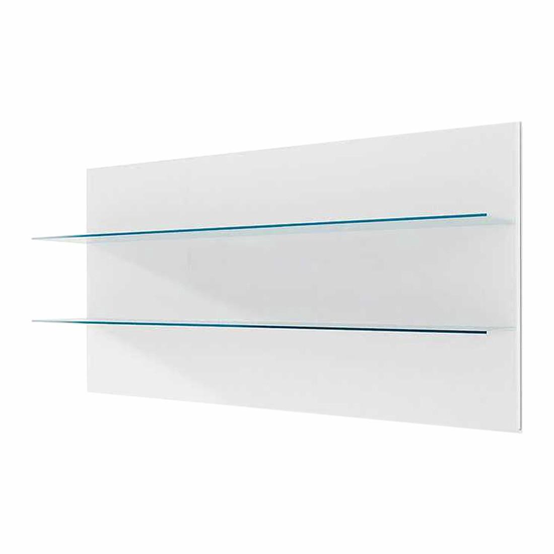Wandpaneel Corana klein – Hochglanz Weiß – Ohne Beleuchtung, loftscape günstig