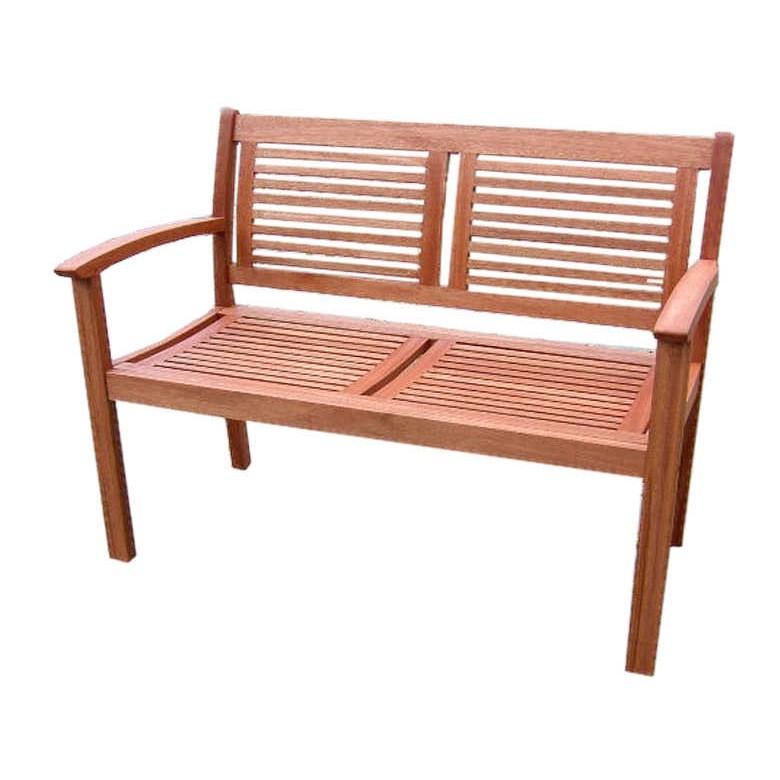 Gartenbank Cordoba (2-Sitzer) - Eukalyptus massiv - geölt, Merxx