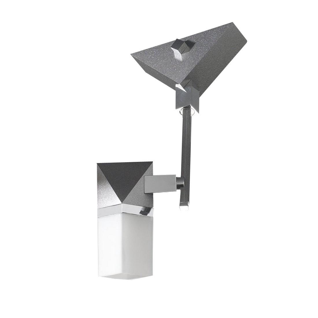 Decken--Wandleuchte Alutop G1 - 1-flammig - Terra-Metalica-Chrom, In-Nova Design