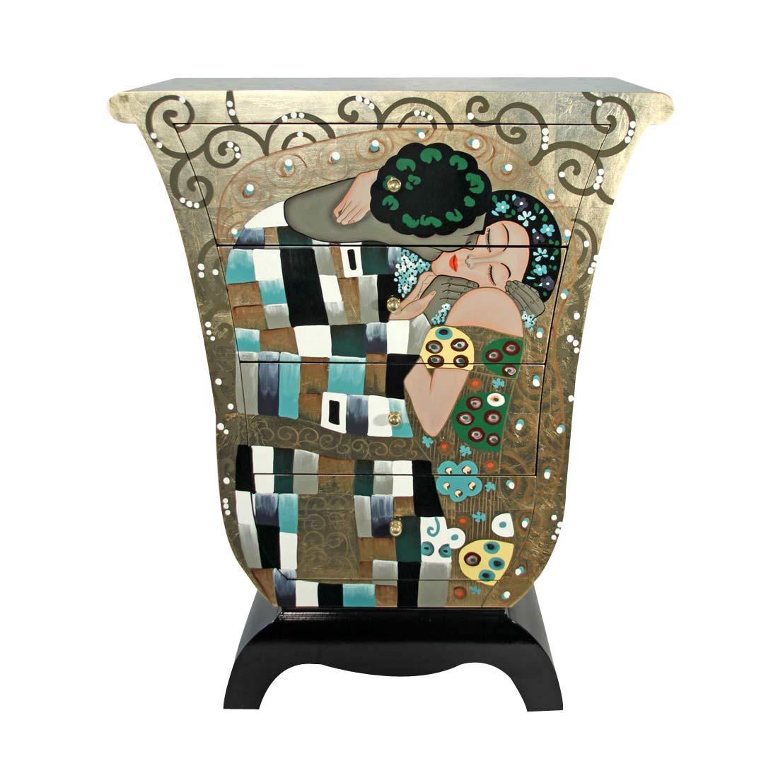 Kommode Der Kuss – in Tulpenform – Mehrfarbig, Art for living online kaufen