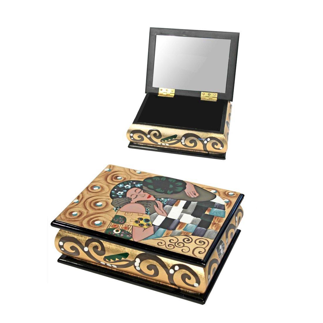 Schmuckbox/Spiegel Der Kuss, Art for living kaufen