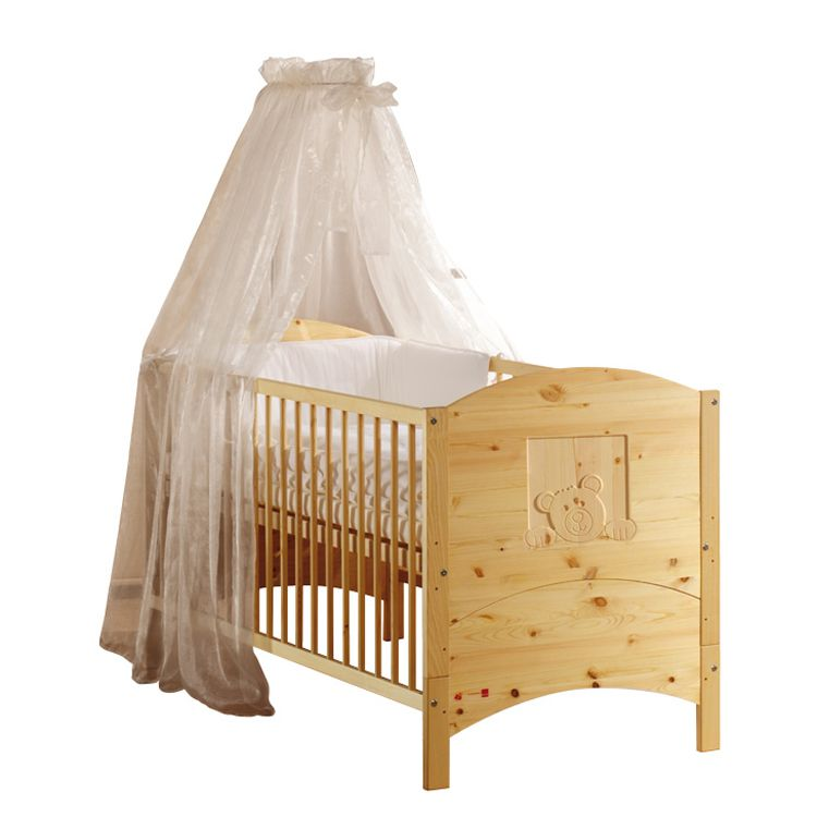 Babybett Dream - Kiefer massiv - Natur, Schardt