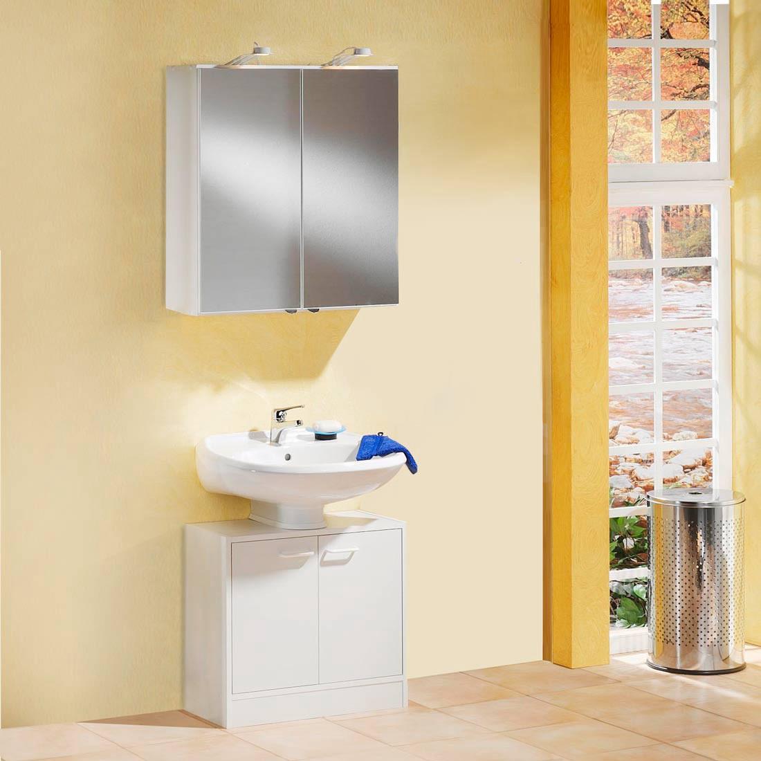 Waschplatz Edmonton - weiß