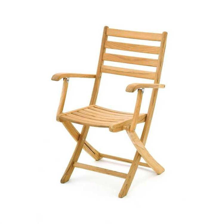 klappstuhl elegance armlehne teak belardo m bel online kaufen. Black Bedroom Furniture Sets. Home Design Ideas