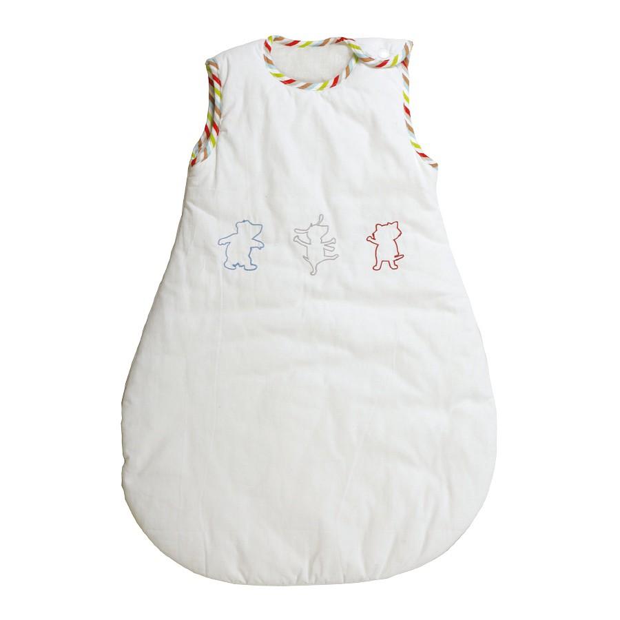 Babyschlafsack Eltern E2 Gr. 90 – 100% Baumwolle – Weiß, Roba jetzt kaufen