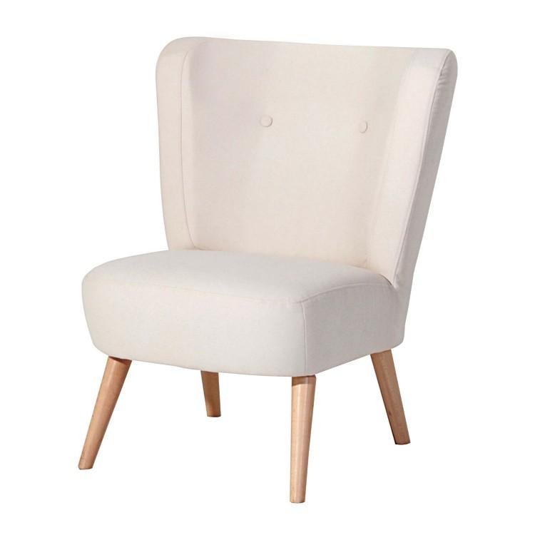 Sessel Fergie – Stoff Beige – Filzoptik, Mørteens kaufen