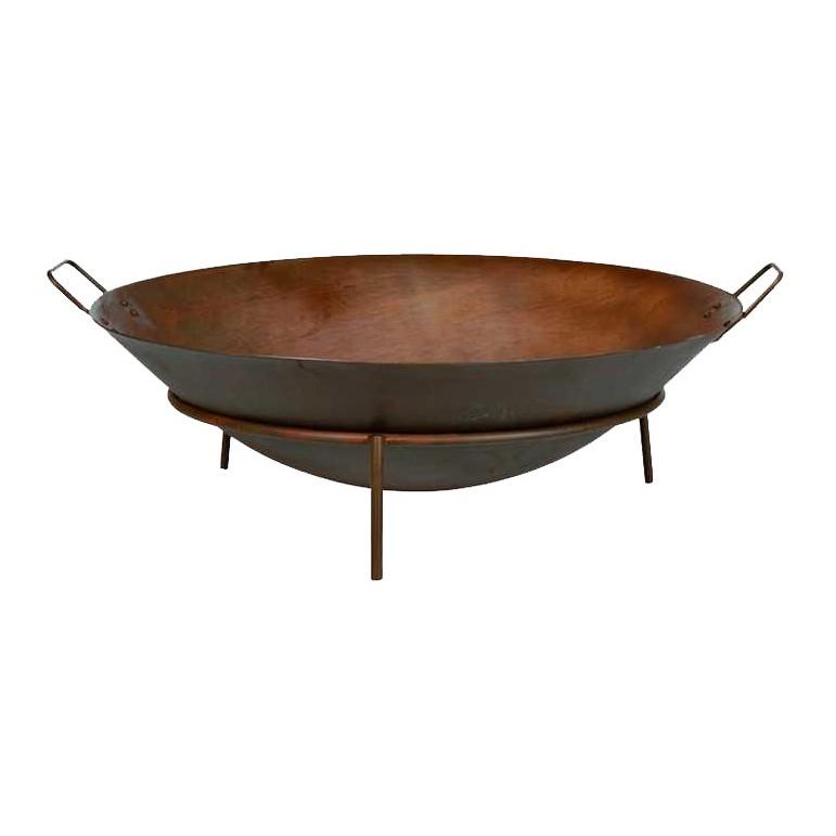 feuerschale rusty mit tragegriffen metall rostbraun siena garden g nstig online kaufen. Black Bedroom Furniture Sets. Home Design Ideas