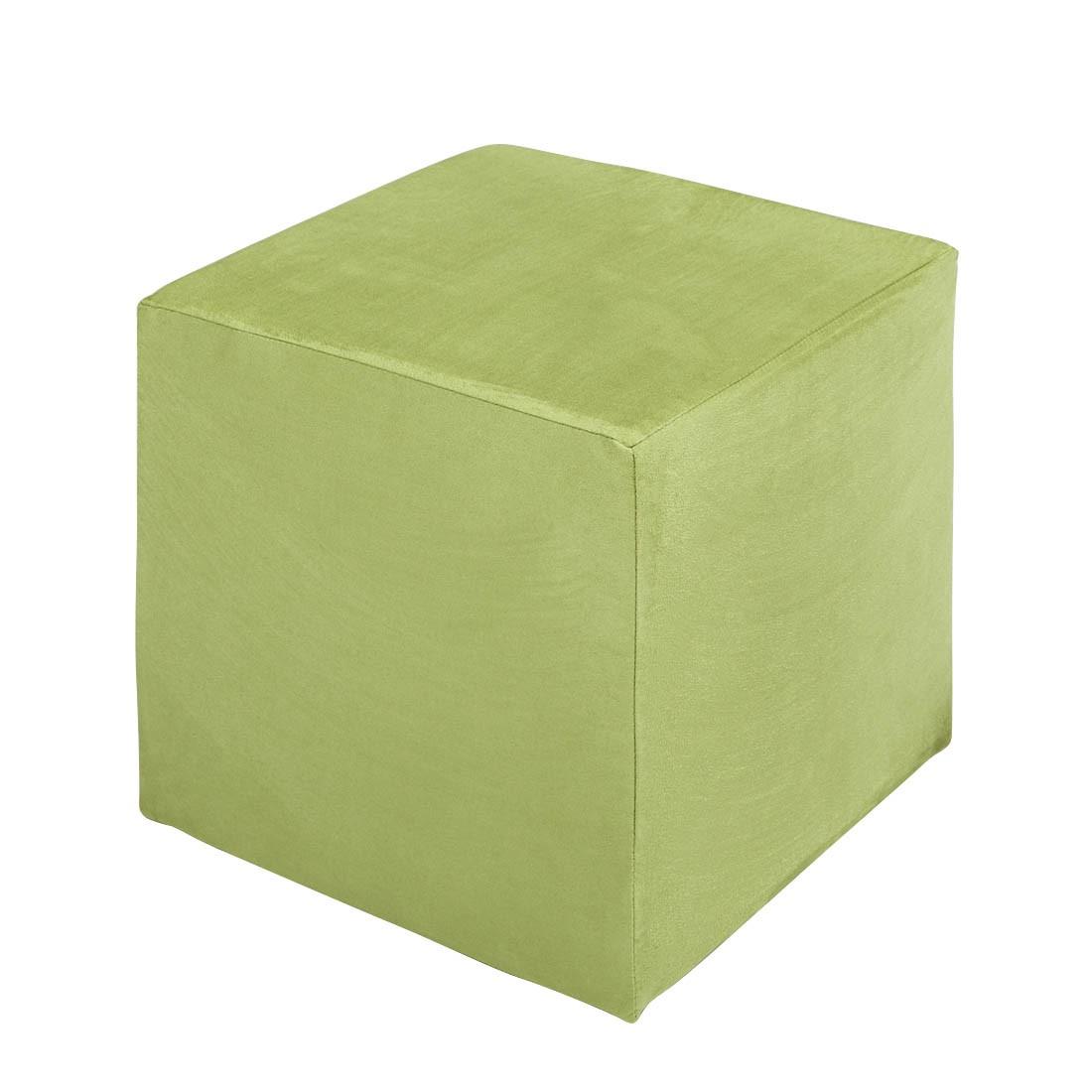Sitzwürfel Fredrik – Stoff Grün, Fredriks online bestellen